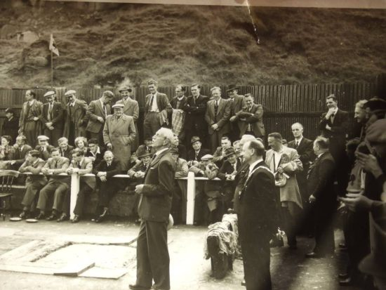 Quoits: Wales v Scotland 1954