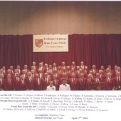 Tredegar Orpheus Male Voice Choir