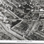 Aerial View Of The Southern End Of Tredegar