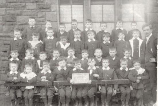 Blaina Central Boys' School, Group 3, 1904