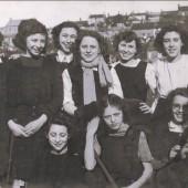 Hafod y Ddol School, Mauve House hockey team, 1948 to 1949