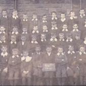 Blaina Central Boys School, Std IIa, 1901