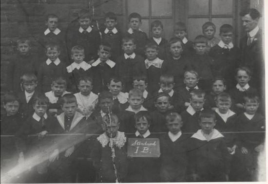 Blaina Central Boys, St. Ib, 1910