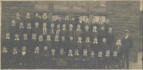 Blaina Central School, Std 5, 1915