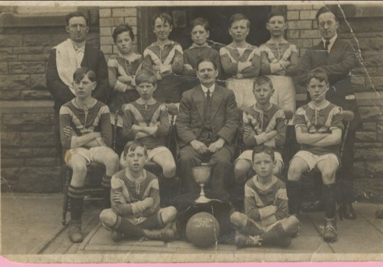 Westside School, winners of Abertillery and District Cup, 1930