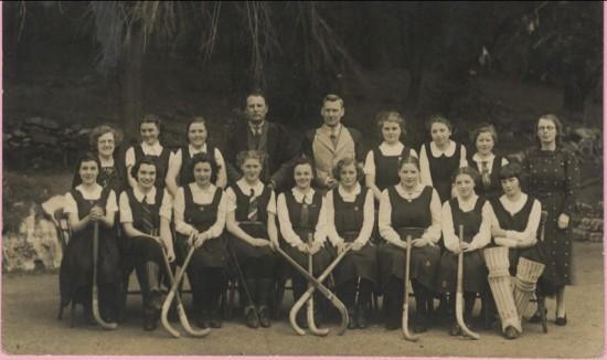 Hafod y Ddol Hockey Team, 1938