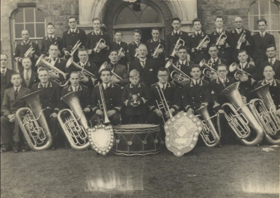 Blaina Band in the 1940s