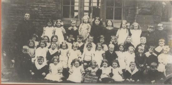 Blaina Central Infants, Class 5, 1913