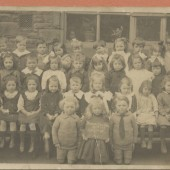 Blaina Central infants, Group 7, 1920