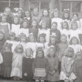 Blaina Central School, Girls Group 6, 1920