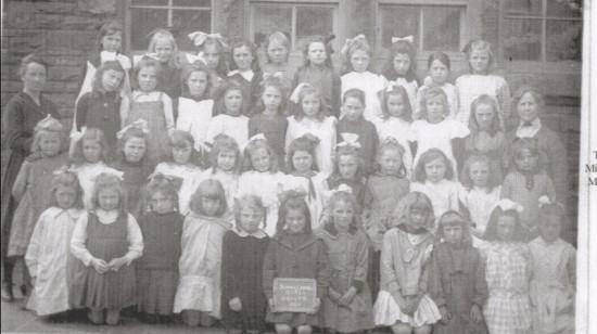 Blaina Central School, Girls Group 6, 1920
