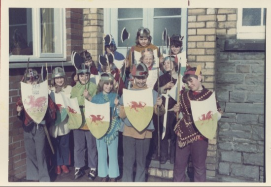 West Side School St David's Day Celebration