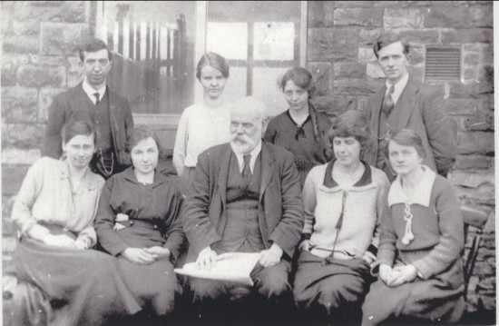 Garnfach School Staff, 1920s?