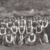 Hafod y ddol Grammar School Hocket Team, Season 1942 to 1943.