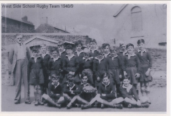 West Side School Rugby Team 1948 9