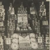 Meadow Dairy Ltd window display in the 1930s
