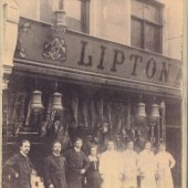 Liptons Shop in about 1910.