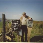 Mr. C. Proll on the Milfraen, 1993