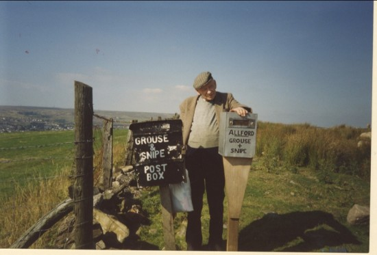 Mr. C. Proll on the Milfraen, 1993