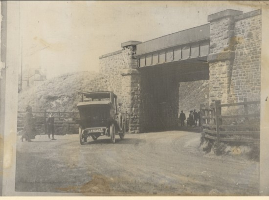 The Bournville Railway Halt Bridge