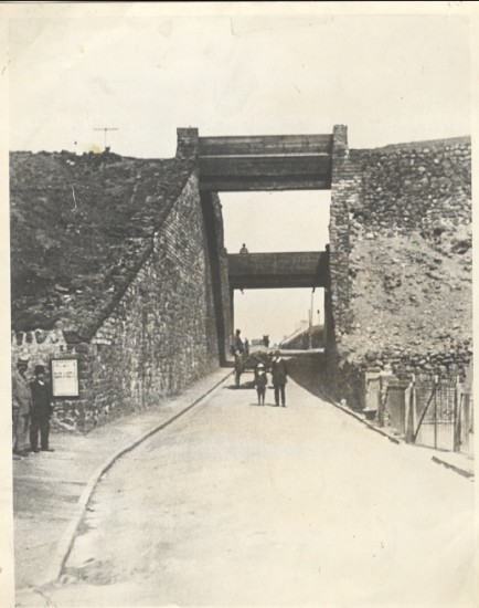 Bridges, Top of High Street Blaina