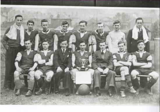 Blaina Westside Football Team