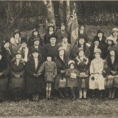 St. Peter's parishioners in the 1930s
