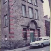 Salem Schoolroom, bottom of Pump Street