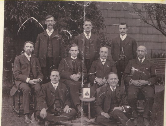 Deacons of Salems Chapel, Blaina