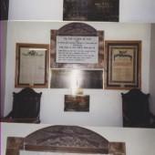 Memorial Plagues from Ebenezer Chapel, Blaina