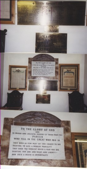 Memorial Plagues from Ebenezer Chapel, Blaina