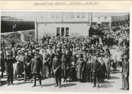 Salvation Army School Walks
