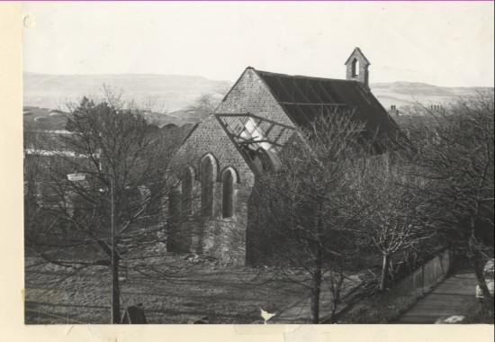 Holy Trinity Church Nantyglo. Built by Crawshay Bailey.