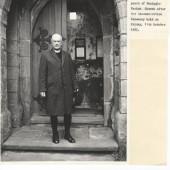 Edwin Morris, Archbishop of Wales at Holy Trinity Church, Nantyglo.