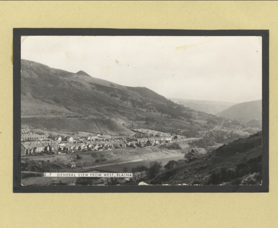 General View from West, Blaina