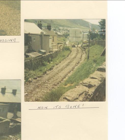 Blaina railway line (West Side)
