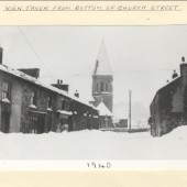 View taken from bottom of Church Street