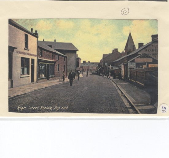 High Street (top end), Blaina