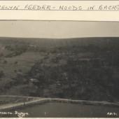 Cwmcelyn Feeder Pond, Woods in Background, Blaina