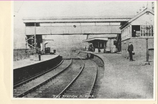 The first train arrived at Blaina on the 21st December 1850