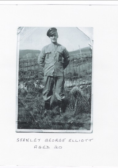 Stanley George Elliot, aged 20, was the first man from Blaina to be killed in WWII aged 21