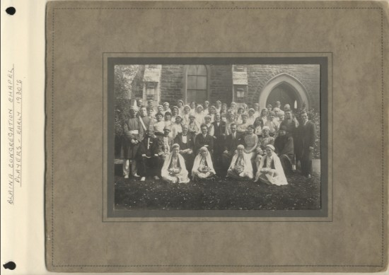 Blaina Congregation Chapel Players, early 1930s