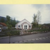 The new Spiritualist Hut, Cwmcelyn Road, Blaina.  Original hut was a zinc shed.