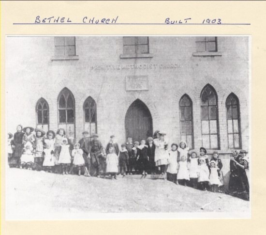 Bethel Church, Built 1903