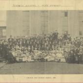 Gobaith Chapel, Hope Street, Blaina.  Church and Sunday School