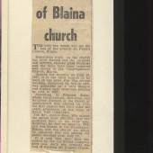 Last Days of Blaina Church (St. Peter's)
