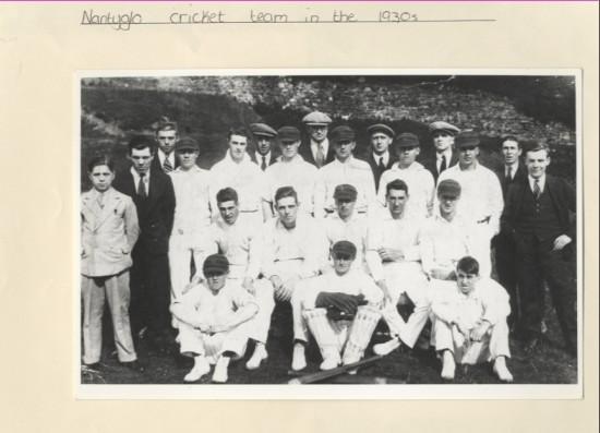 Nantyglo Cricket Team
