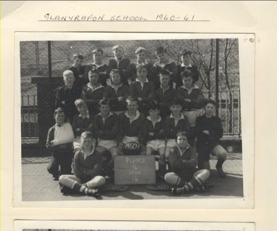Glanyrafon School 1960 to 1961