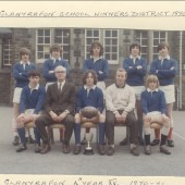 Glanyrafon School Winners District 1970 to 1971