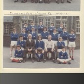 Glanyrafon School 1970 to 1971